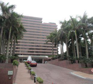 Auffahrt Hotel InterContinental Hong Kong