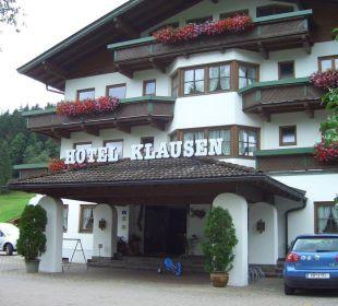 Frontansicht Hotel Klausen