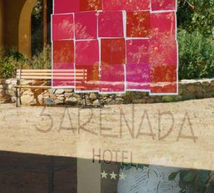 Eingangstür S'Arenada Hotel