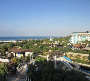 Ausblick Sunis Hotel Evren Beach Resort & Spa