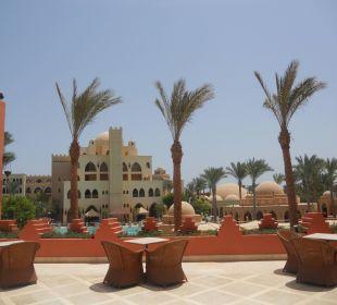 Ausblick von der Terrasse der Lobby