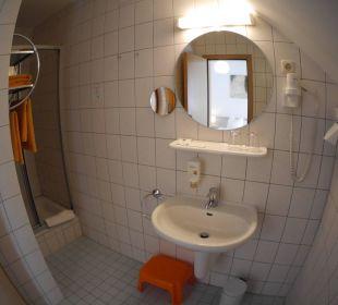 Badezimmer AKZENT Berghotel Rosstrappe