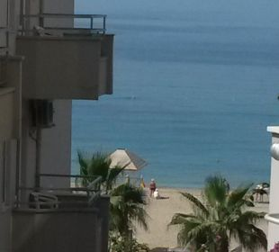Ausblick vom Zimmer Hotel Kleopatra Celine