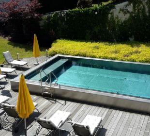 Aussenpool Saunabereich Hotel Krallerhof