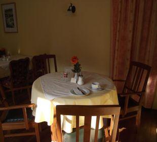 Frühstückstisch Ettrich's Hotel