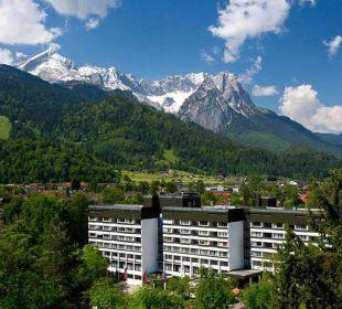 Außenansicht Mercure Hotel Garmisch Partenkirchen