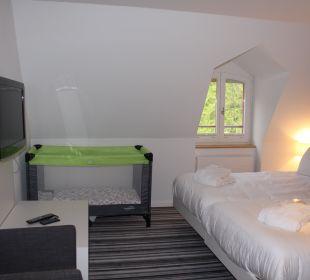 Maisonette Schlafzimmer Berg Hotel Vitznauerhof