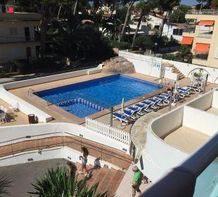 Blick vom Balkon Hotel Palma Playa - Cactus