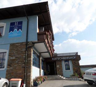 Hoteleingang Hotel Katschberghof