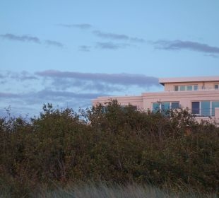 Blick vom Strandaufgang Strandhotel Dünenmeer