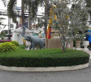 Eingang Anlage Thai Garden Resort