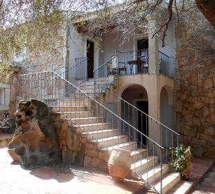 Eines der Häuser mit den Zimmern Hotel Parco Degli Ulivi