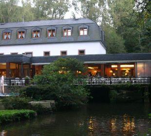 Terrasse Hotel Heidsmühle