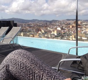 Dachterrasse mit Pool Hotel Andante