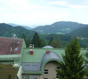Blick aus dem Zimmer Hotel Panhans