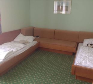 Betten der Kinder Thermenhotel Kurz