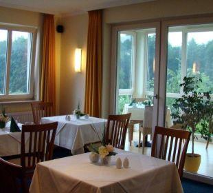 Frühstücksraum Hotel Pension Bellevue