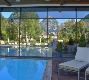Spiegelung Hotel Travel Charme Fürstenhaus Am Achensee
