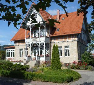 Vorderfront  Hoffmanns Gästehaus
