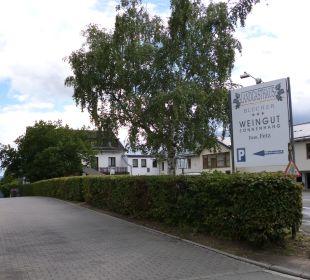 Zufahrt/ Parkplatz Landgasthaus Blücher