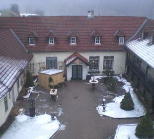 Innenhof mit Restaurant und div. Stüberln Wohlfühlhotel Liebnitzmühle