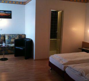 Familienzimmer im Gästehaus Hotel Rheinlust