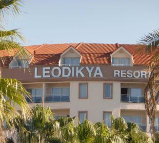 Tagesansicht vom Garten aus Kirman Leodikya Resort