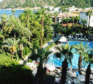 Pool eher klein Hotel Aqua