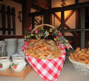 Brot, Gebäck und Marmelade ENZIANA Hotel Vienna
