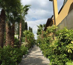 Gartenanlage Hotel Cristina