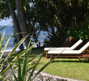 Oktagon Liegeplatz im tropischen Garten Ciliks Beach Garden