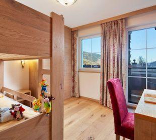 Der neue Zimmertyp Hochreit Kinderzimmer Kinderhotel Felben