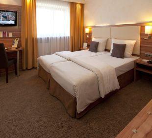 Gästezimmer Typ comfort City Hotel Ost am Kö Augsburg