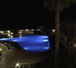Ausblick von der Terrasse auf den Pool IBEROSTAR Hotel Playa Gaviotas
