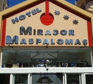 Eingang Hotel Mirador Maspalomas Dunas