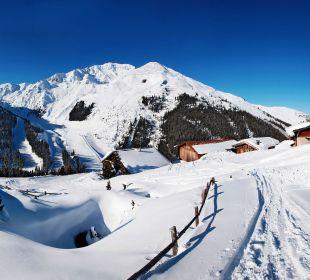 Herrliche Hütten im Skigebiet vom Hotel Lamark! Hotel Lamark