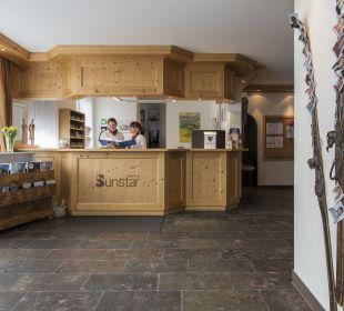 Lobby Sunstar Alpine Hotel Lenzerheide