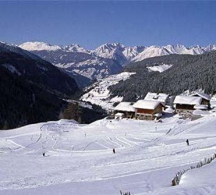 Marlstein im Winter Berghotel Marlstein