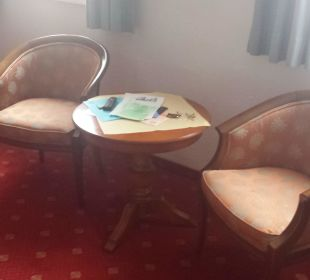 Sitzecke  Romantik Hotel Sonne