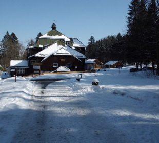 Viel, viel Schnee hatten wir! Hotel Harzhaus