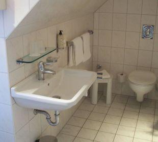 Badezimmer KurparkHotel Warnemünde