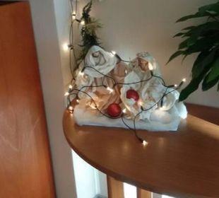 Weihnachtsdeko  Carat Golf & Sporthotel Residenz