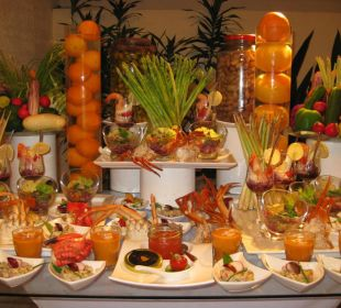 Vorspeisenbuffet Lily Beach Resort & Spa