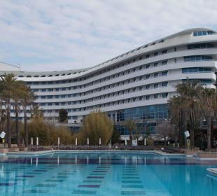 Teile von der Pooöanlage Hotel Concorde De Luxe Resort