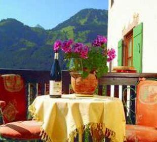 Eingangsübersicht Gästehaus Wineberger