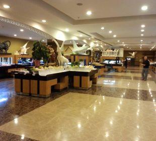 Blick zum Buffet Siam Elegance Hotels & Spa