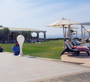 Blick zur Beachbar Hotel Istion Club & Spa