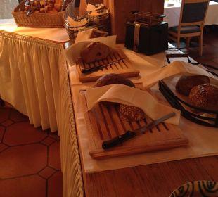Frühstück Brotauswahl Hotel Allgäu Sonne