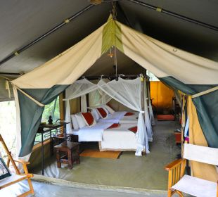 Zeltansicht Mara Bush Camp