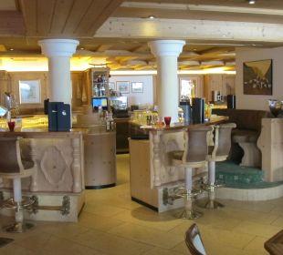 Blick auf die Bar Hotel Post